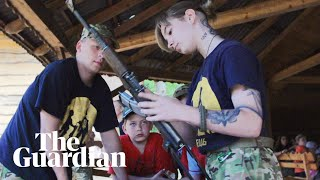Ukraine's far-right children's camp: 'I want to bring up a warrior'
