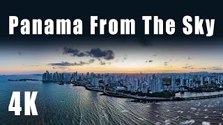 Panama From The Sky - An Aerial Journey (4K Drone Footage)
