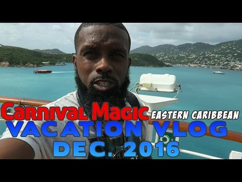Vacation Vlog #6: Carnival Magic Cruise - Amber Cove, St. Thomas, San Juan Puerto Rico, Grand Turk