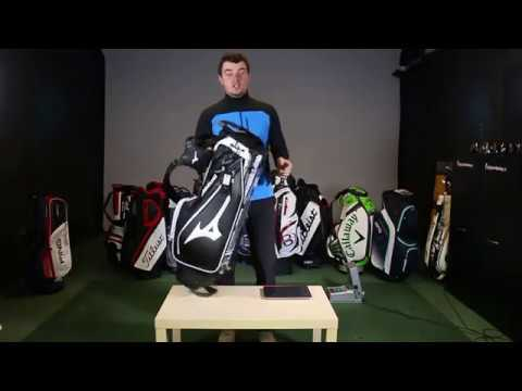 89ccdc609a81 Mizuno pro stand bag 2017 - video review