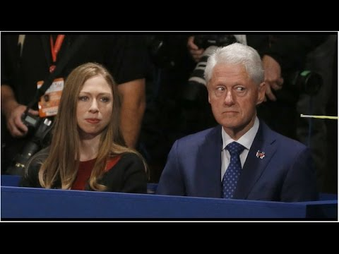 Bill Clinton Stares Furiously At Donald Trump For Mentioning Paula Jones And Monica Lewinsky
