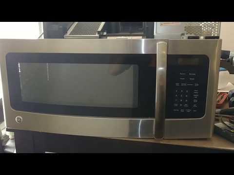 GE microwave won't stop running