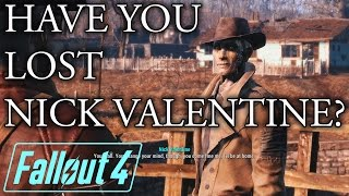 Have you lost Nick Valentine, here s how to find him - Fallout 4