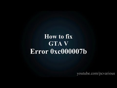 application unable to start correctly 0xc000007b windows 10
