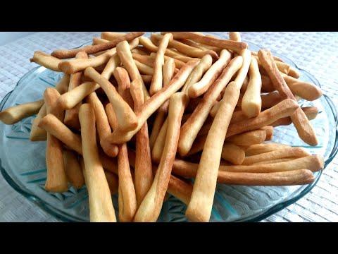 Хрустящие соленые палочки! Как в детстве из магазина!