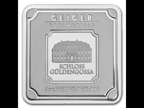 🎄Early Christmas Silver: New Geiger 1 oz Square Bars🎄