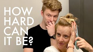 QUARANTINE HAIRCUTS 2.0 - MOM'S TURN! : Adventuring Family of 11