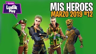#12 MY HEROES MARCH (MASTER GRANDERA!, KEN INFILTRATOD, GATA SALVAJE) FORTNITE SAVE THE WORLD