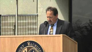 Mount Wachusett Community College Wind Turbine Dedication Ceremony Part 6
