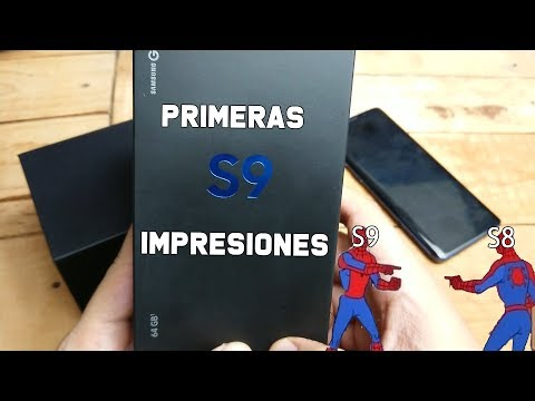 Samsung Galaxy S9 : Primeras Impresiones. Como el S8 pero con mas Magia..y esas cosas. México!