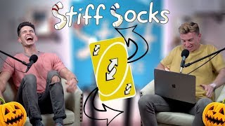 Gambar cover Trevor and Michael Mock Each Other | Stiff Socks Podcast Ep. 42 (SPOOKY EDITION)