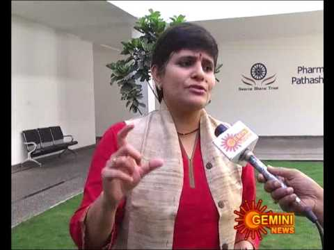 sterzy interview with Deepa Venkat on Swarna Bharath trust, Hyderabad chapter