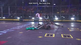 BattleBots Basement Tapes: MAMMOTH vs. FOXTROT