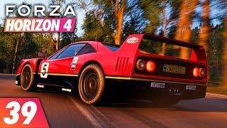 Forza Horizon 4 | Walkthrough Part 39: THE FINAL F40