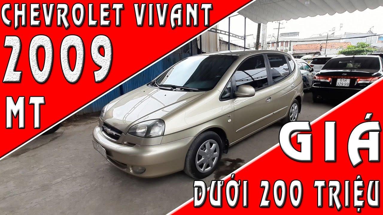 Mua bán xe ô tô cũ 7 chỗ giá rẻ dưới 200 triệu Chevrolet Vivant cũ 2009 mt | SIÊU THỊ Ô TÔ CŨ