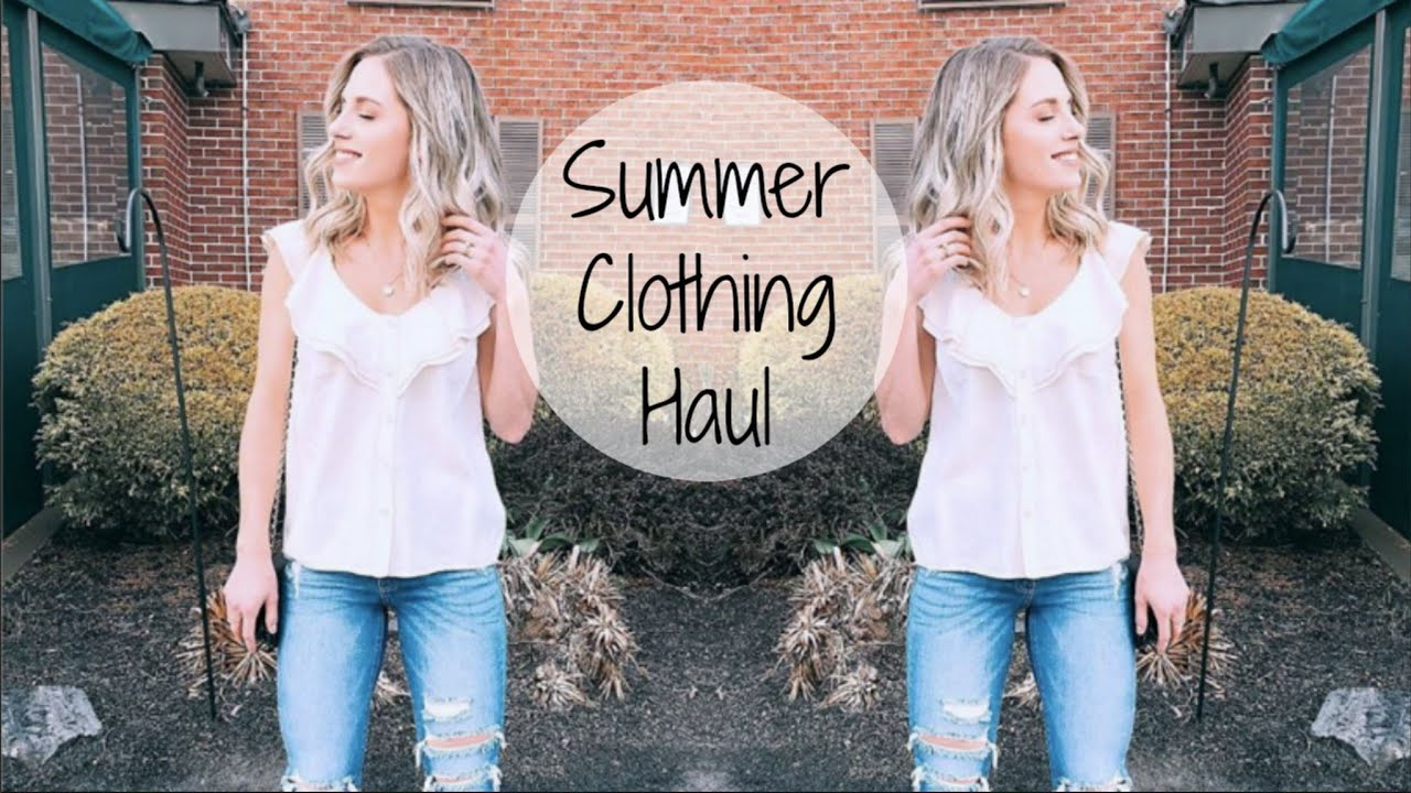 a1a3e1f099 Affordable Summer Clothing Haul | Target, H&M, Old Navy, & Tjmaxx ...