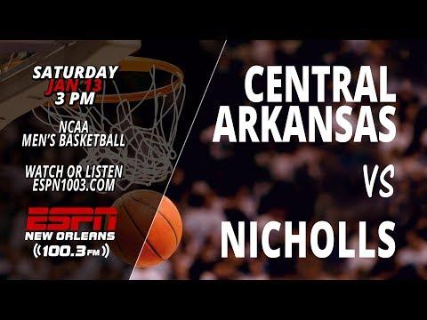 UCA Bears @ Nicholls Colonels (Men's Basketball)