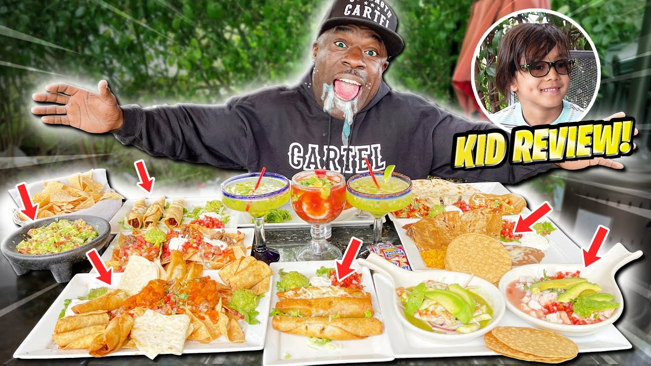 Kid Does Mukbang with Kali Muscle