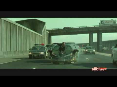 Matrix Reloaded - Car chase - Music Video (widescreen & audio HQ) poster