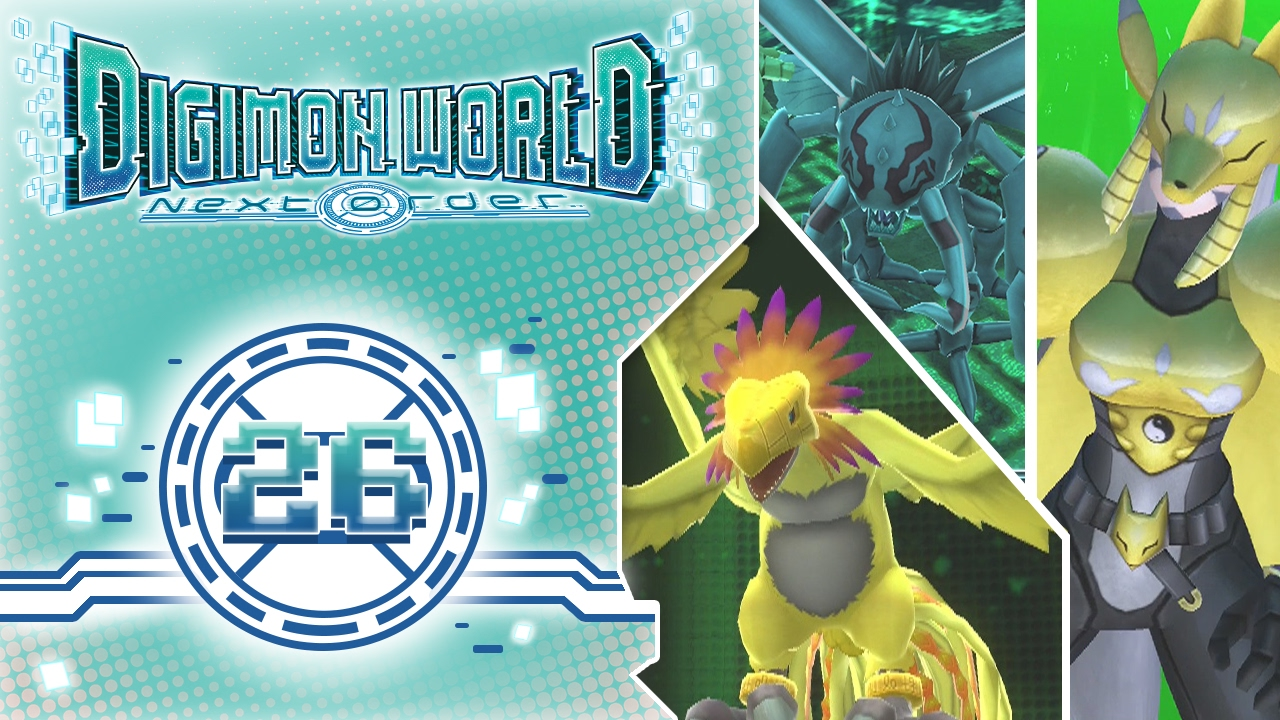 Digimon World: Next Order PS4 - Ep 26 : Okuwamon,Sakuyamon ... Sakuyamon Digimon World 3