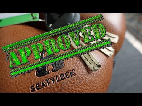 (1486) Review: SeatyLock Integrated Bike Lock