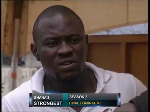 GHANA'S STRONGEST   FINAL ELIMINATOR