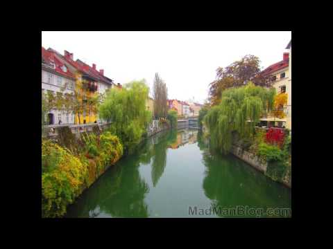 Ljubljana Slovenia Photo Tour - What a Beautiful City!