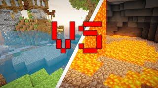 Lava Fishing VS Noŗmal Fishing (Hypixel Skyblock)