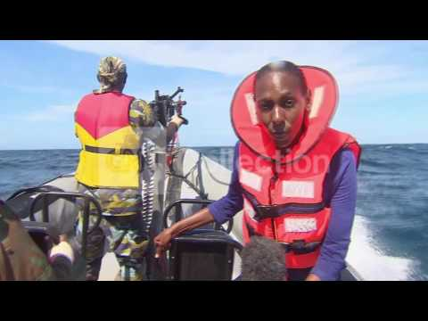 SOMALIA PIRATE PATROL CNN RIDE ALONG