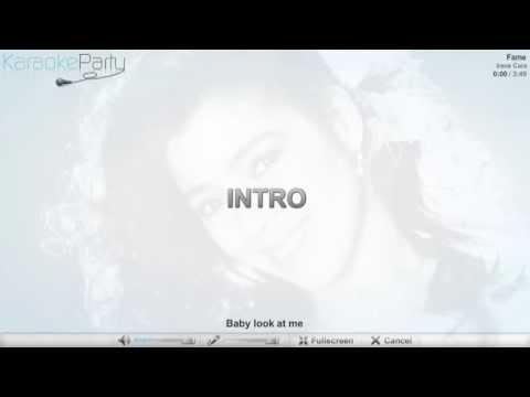Irene Cara - Fame - karaoke