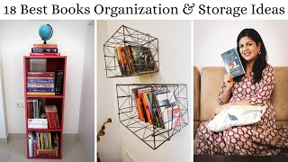 18 Best Books Organization & Storage Ideas - Creative Books Storage Ideas