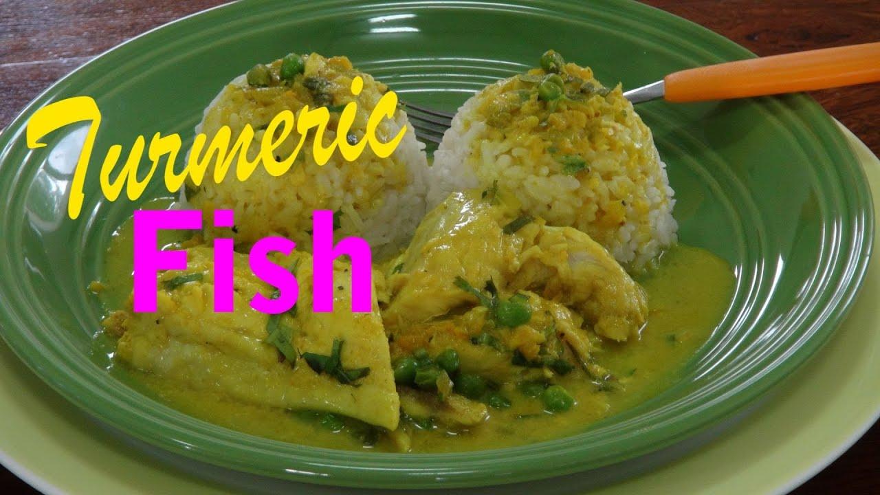 Coconut Turmeric White Fish Recipe