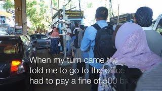 Krabi to the Thai-Malaysian border
