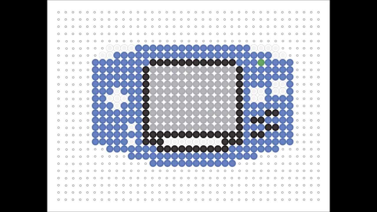 Hama Bead Game Boy Advanced Game Series 5