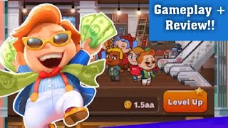 Tap Tap Plaza - Mall Tycoon Gameplay + Review|Latest Android Games|