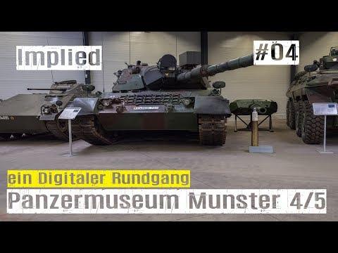 Zu Besuch im Panzermuseum Munster Folge #04 vom Tiger II bis zum Leopard