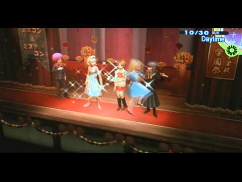 Persona 4 Golden Playthrough pt 93: -The Group Date Cafe- Cross Dressing to the MAX!