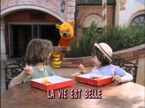Sing Along Songs Disneyland Fun in French