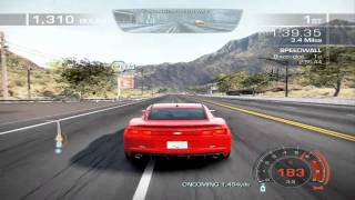 Need for Speed Hot Pursuit ~ Racer Gameplay ~ Muscle Reflex
