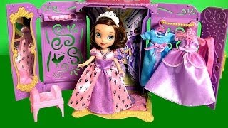 Sofia the First Portable Princess Closet Wardrobe Review Disneycollector Armario de Princesa Disney