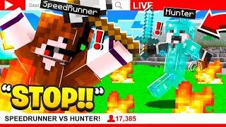 I Stream Sniped His Minecraft SPEEDRUN!