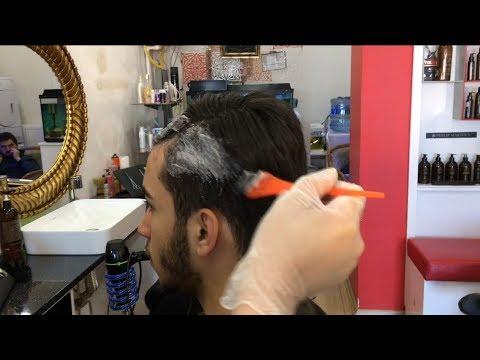Erkek Saç Bakımı Erkek Saç Boyama Youtube