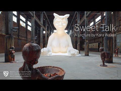 Kara Walker | Sweet Talk || Radcliffe Institute