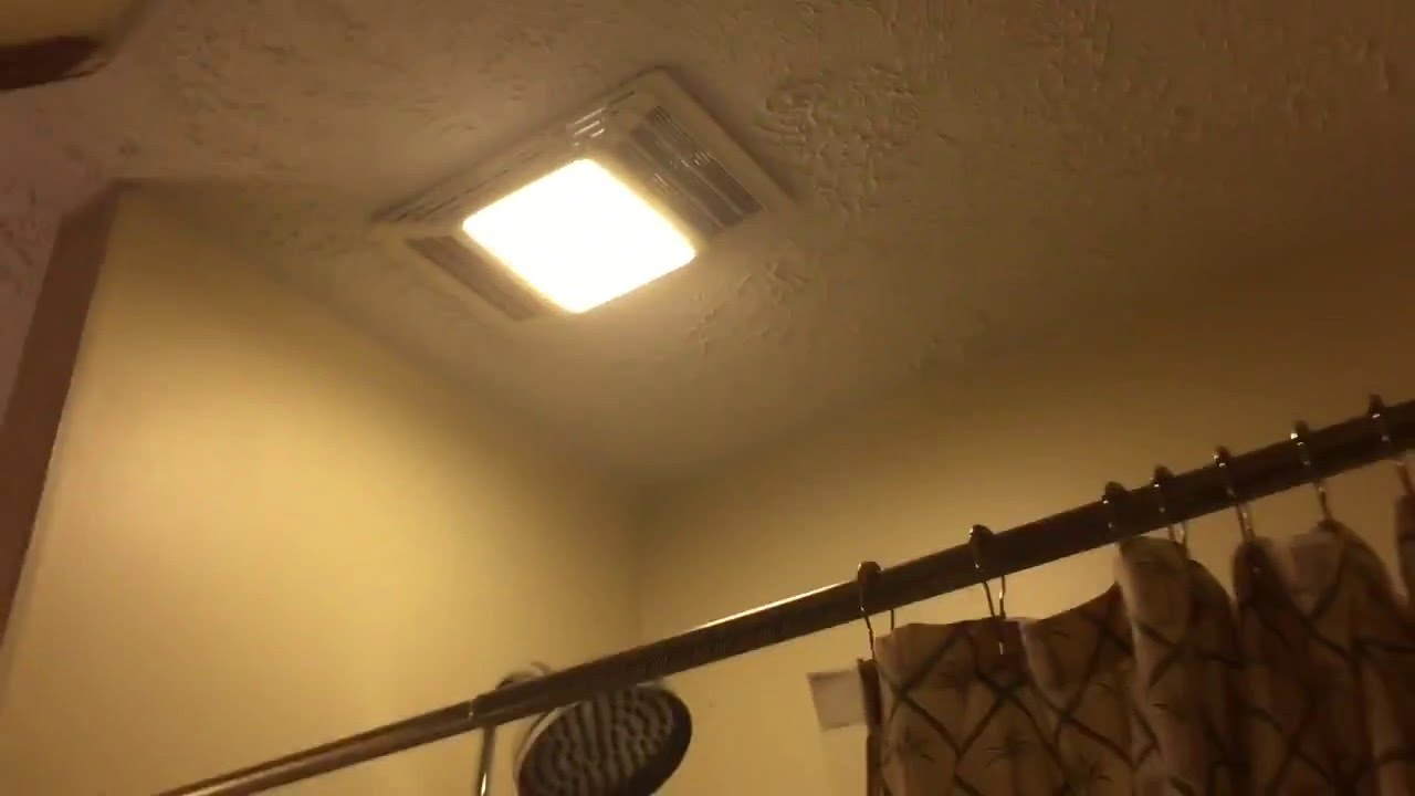 Broan-Nutone Heat a ventlite exhaust fan. - YouTube