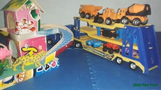 Heavy Equipment Container Truck [Heavy Equipment Toys] Truck Toys