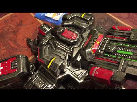 Unboxing a Model Toy Resin Siege Tank (SCII) - Check out the detail!