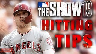 MLB The Show 19 HItting Tips - MASTER Hitting in MLB The Show!