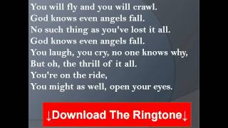 Vanessa Carlton - Even Angels Fall Lyrics
