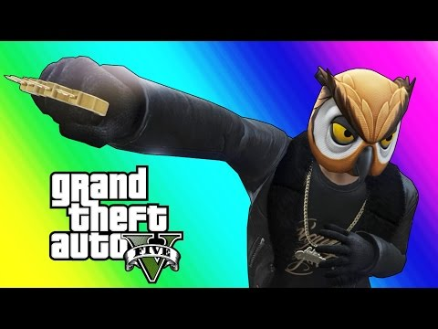Thumbnail: GTA 5 Online Funny Moments - Brass Knuckles & Marksman Pistol Free-For-All!