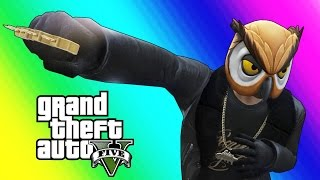 GTA 5 Online Funny Moments - Brass Knuckles & Marksman Pistol Free-For-All!